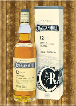 Cragganmore 12 Jahre Speyside Single Malt Whisky 0,2 Liter