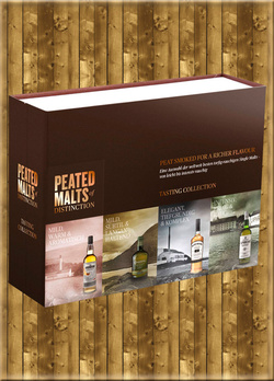 Peated Malts of Distinction 4 x 5cl Set