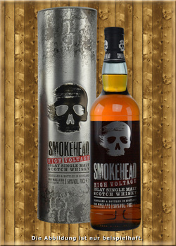 Smokehead High Voltage Islay Single Malt Scotch Whisky