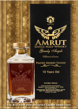Amrut Greedy Angels 10 Jahre Peated Sherry Finish