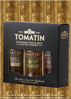 Tomatin Collection 3 x 50ml