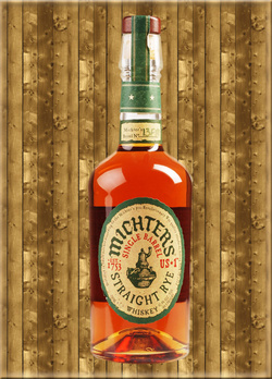 Michters US*1 Single Barrel Straight Rye Whiskey