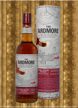 The Ardmore 12 Jahre Port Wood Finish Single Malt Scotch Whisky